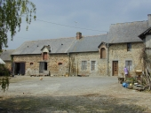 Ferme de notable, le Rocher (Domalain)