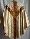 Ornement blanc 1 : chasuble