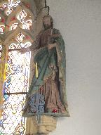 Statue (grandeur nature, d'applique) : saint Joseph