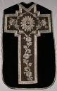 Ornement noir 1 : chasuble, étole