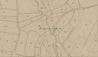 Fontaine Maria. Plan cadastral 1837, section C3 (AD Morbihan 3P177)