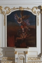 Tableau d'autel : Saint Michel terrassant le dragon