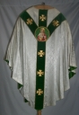 Ornement blanc : chasuble