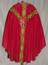 Ornement rouge 1 : chasuble