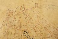 Plan cadastral 1844, section K8. AM Vannes 21Fi.