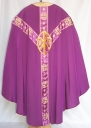 Ornement violet 3 : chasuble