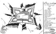 Plan du fort de Saint-Père par Carpilhet, 1785