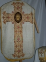 Ornement blanc 1 : chasuble, étole