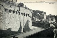 Morlaix, fortifications d'agglomération : carte postale ancienne