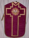 Ornement violet 1 : chasuble
