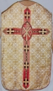 Ornement blanc 2 : chasuble