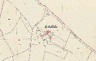 Plan cadastral 1842, section G1 (AD Morbihan, 3P 137)