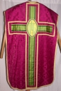 Ornement violet 2 : chasuble