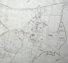 Plan cadastral de 1845, section D.